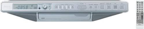 Amazon.com: Sony ICF-CD553RM Under Cabinet Kitchen CD Clock Radio ...