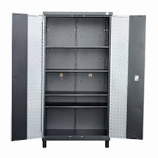 tall black storage cabinet. Amazon Hom Tall Steel Garage Organizer Storage Cabinet W Doors And Shelves Silver Black Home Improvement