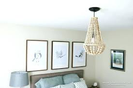 full size of wood bead chandelier uk beaded flush mount lighting come learn how to make