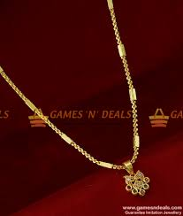 smdr156 gold plated jewellery fancy ad stone pendant with short chain indian jewelry 170 1 850x1000 jpg