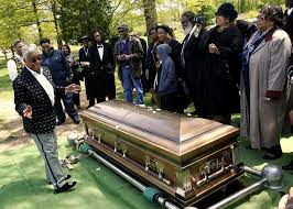 Image result for whitney houston funeral