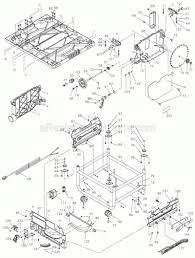 Ereplacementparts dewalt dw745 parts list and diagram type 1 ereplacementparts dewalt electric drill parts at image of