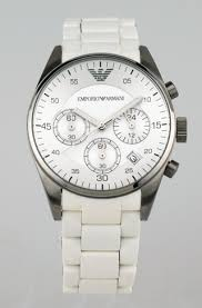 emporio armani watches 119 for emporio armani women s watch white stainless steel band white dial ar5867 345 list price