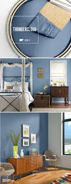 Laundry room color Add sophistication to your home by incorporating  Thundercloud into your bedroom, kitchen, or entryway. This deep blue BEHR  Paint color ...