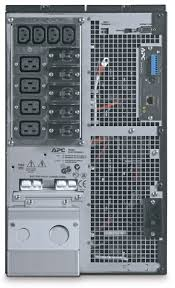 apc smart ups rack tower 10000va 230v surt10000xli critical power supplies apc surt10000xli rear from critical powe