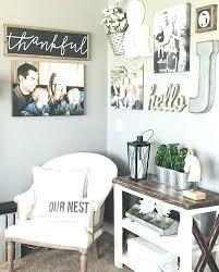 living room wall decor ideas impressive rustic corner marvelous diy kitchen decorating id