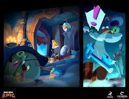 angry birds epic - comic cutscenes -