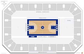 cameron indoor stadium seating chart with row numbers