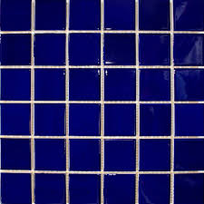 blue tiles. Fine Tiles Arkitekt Gloss Dark Blue Intended Tiles E