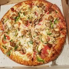 photo of marco s pizza henrico va united states deluxe pizza