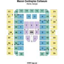 macon centreplex coliseum seating chart macon centreplex events and concerts in macon macon
