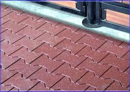 outdoor rubber tiles outdoor flooring tiles home depot rubber playground tiles