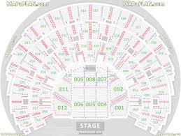 Secc Seating Chart Detailed Seat Numbers Chart With Rows And Blocks Layout