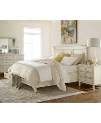 Sag Harbor White Bedroom Furniture Collection, 3 Piece Set (Storage ...