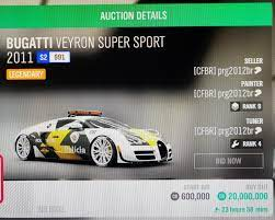 Chevrolet chevelle super sport 396 (series 8). 20 00 000 For Bugatti Veyron Forza