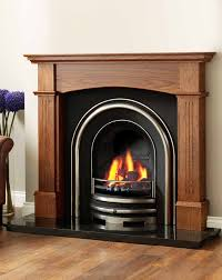electric fireplace mantel kits with wooden floor and tan wall