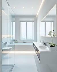 modern white bathroom. 140 Charles Street NYC, New York #bathroom #newyork #design | Bathroom Pinterest Street, Modern And Freestanding Bath White S