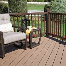 style selections decking. Brilliant Decking Shop Style Selections Natural Brown Groove Composite Deck  Board Actual 094in X 55in 12ft At Lowescom Throughout Decking S