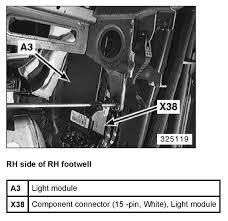 1999 bmw 528i my radio turn signal lights fuses graphic