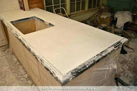 cast concrete countertop hand cast concrete modern kitchen precast concrete countertop molds