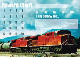 Train Reward Chart The Little Black Duck