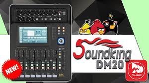 SOUNDKING DM20 - доступный <b>цифровой микшерный пульт</b> ...