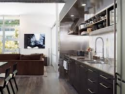stainless steel baers kitchen contemporary with antler chandelier quiet wall mount range hoods
