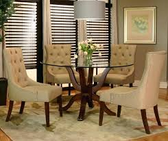 cream leather dining chairs and table room best decoration