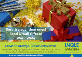 surprise your dear ones by sending gifts and parcels on diwali