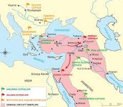 1 Dünya Savaşı Osmanlı Savaştığı Cepheler