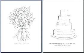 Wedding Coloring Book Pages Coloring Page Color Book Free Printable
