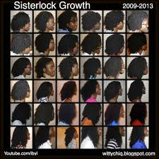 Dreads Growth Chart Sisterlock Growth 0 4 Years 2009 2013 Natural Hair Styles