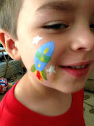 image result for face painting for girls simple