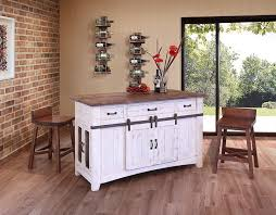 barn door kitchen island
