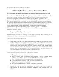 Resume Impact Statement Examples Resume Impact Statement Examples Examples of Resumes 1