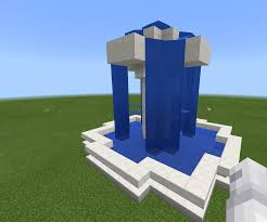 Minecraft Water Fountain Designs Minecraft Luxury Fountain 7 Steps Instructables