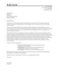 Writing Proper Cover Letter Resume For Format Career Change Home