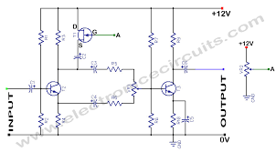 voltage controlled volume electronic circuits voltage controlled volume circuit