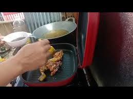 Pilih bagian paha ayam yang memiliki daging yang lembut. Cara Memanggang Ayam Menggunakan Happy Call