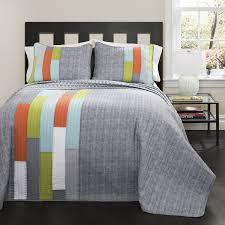 bedspreads inexpensive bedding sets king size bed forter orange