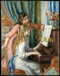 metropolitan museum of art two young girls at the piano auguste renoir