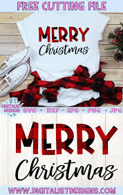 1,856 free vector graphics of christmas. Merry Christmas Free Design For Cricut And Silhouette Digitalistdesigns