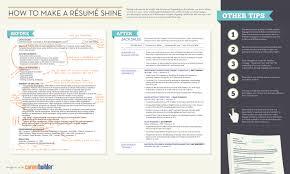 How To Make Rac2a9sumac2a9 Shine Visual Ly Career Builder Resume
