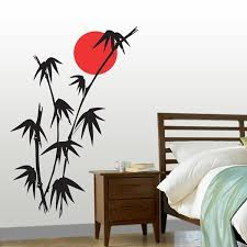 wall art designs bamboo sticker silhouette original neon red colour moon classic table with drawer bed on house wall art image with wall art beautiful gallery wall art designs wall decor designs