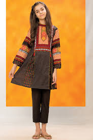 Kayseria - Ajrak Neck Shirt - Winter Collection 2016 - KLadli ...