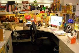 5 Cool and Funny Office Cubicle Decoration Ideas Interior Fans