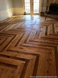 diy flooring projects pallet wood flooring floor ideas for those on a budget