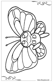 Vlinder Kiddicolour 100 Beste Vlinder Kleurplaat Peuters Top
