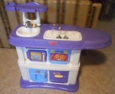 Superior 50pcs Fisher Price Kids Play Pretend Grow With Me Kitchen W/ Accessories U0026  Food