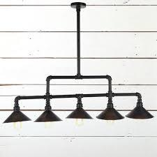 vintage industrial pipe pendant light